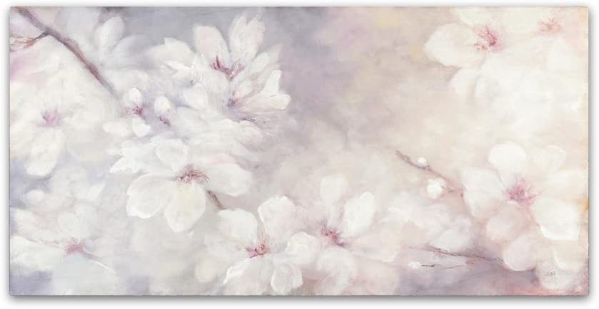Cherry Blossoms by Julia Purinton, 24x47-Inch Canvas Wall Art