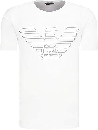 100% cotton,Crew neck,100% Algodón,Mangas cortas,Short sleeves,Outline eagle logo to chest,Straight