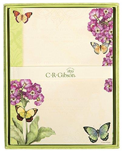 C.R. Gibson Designer Letter Paper, Eden (Gibson Paper)