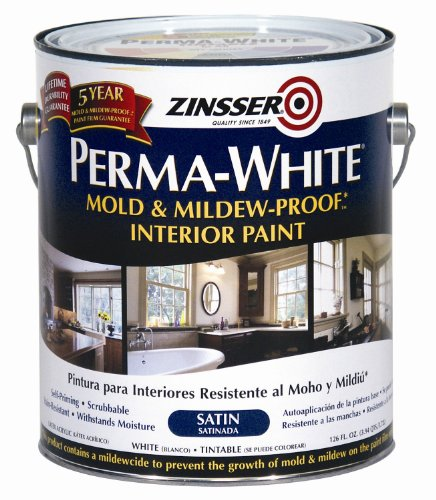 Rust-Oleum Corporation 02711 Mold and Mildew Proof Interior Paint, 1-Gallon, Satin (Best Paint For Mold)