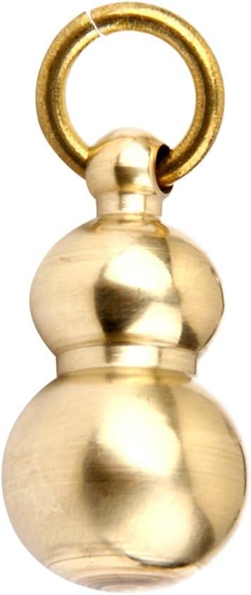 Trousseau de Cl/és Porte-cl/és en Laiton Pendentif Artisanat Forme de Calebasse