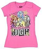 Monster High Girls T-shirt (S (6/6x))