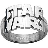 [スターウォーズ]STAR WARS メンズ リング 指輪ring-swCut Out Logo カットアウトロゴ ステンレス [並行輸入品]