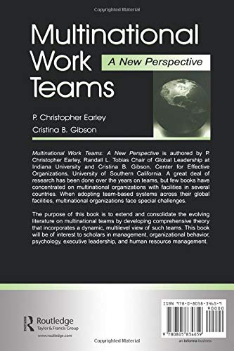 Multinational Work Teams: A New Perspective (Organization and Management Series)