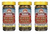 Bragg Organic Sea Kelp Delight Seasoning 2.7 Ounce 3 Pack