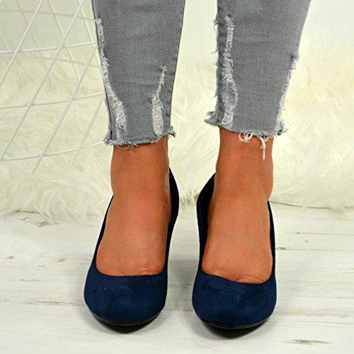 Cuña Azul Con Fashion Mujer Cucu Sandalias TxqRHw6np