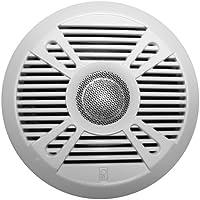 PolyPlanar MA7050 5 2-Way Marine Speaker w/2 Grills - White & Graphite