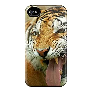 Series Skin Case Cover For Iphone 4/4s(tiger Ii)