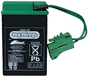 Peg Perego 6 Volt Replacement Battery for Peg Perego Vehicles