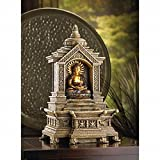 DecorDuke Buddha Relaxation Water Fountains Garden Tabletop Indoor Feng Sui Pump Tranquility Outdoor Home Waterfall