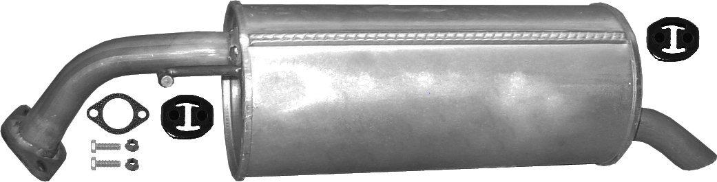 ETS-EXHAUST 52288 Silenziatore marmitta Posteriore + kit di montaggio (pour GETZ 1.1 1.3 HATCHBACK 63/82/86hp 2002-2006) ETS-SCARICO