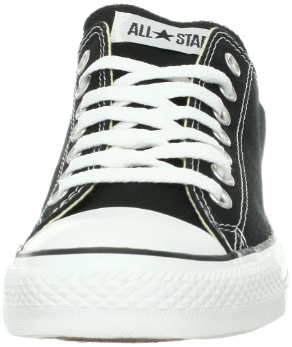 Converseer Mannen Chuck Taylor All Star Low Ox (zwart / Wit) Maat 9.5 Us