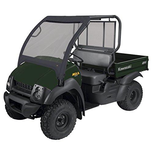 Classic Accessories 18-094-010401-00 Black QuadGear UTV Front Windshield (Kawasaki Mule Accessories)