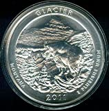 2011 Glacier National Park 5 oz Silver ATB Coin