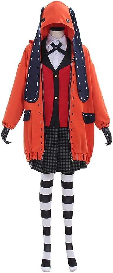 Anime Kakegurui Compulsive Gambler Runa Yomozuki cosplay costume custom made