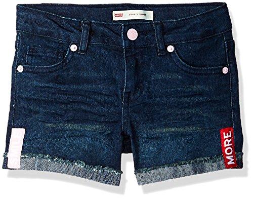 - Levi's Girls' Denim Shorty Shorts