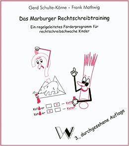 Marburger rechtschreibtraining evaluation essay