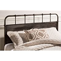Hillsdale Grayson Queen Panel Headboard in Rubbed Black