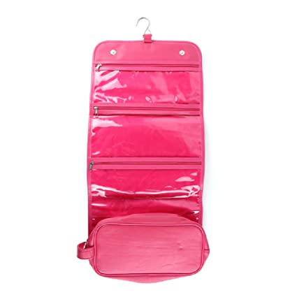 Amazon.com: Bolsa de viaje cosmética, Bolsa de maquillaje portátil ...