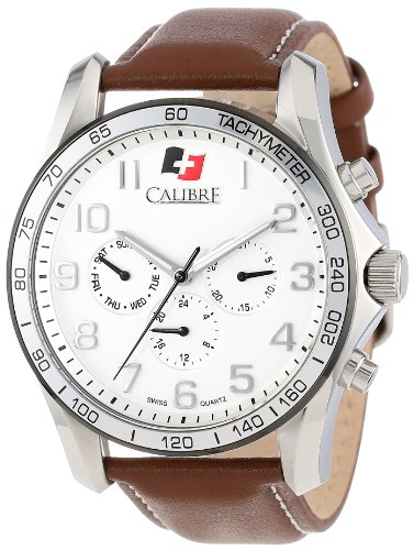 calibre-mens-sc-4b1-04-0017-buffalo-stainless-steel-and-brown-leather-watch