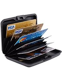 RFID Credit Card Holder for Women or Men Metal Credit Card Wallet Protector Metal Credit Card Case Holder
