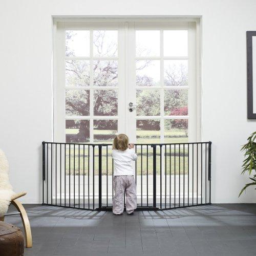 BABY-DAN Konfigurationsgitter FLEX L Schutzgitter, schwarz