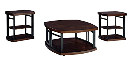 Amazoncom Ashley Furniture Signature Design Challiman Occasional - Discount end table sets