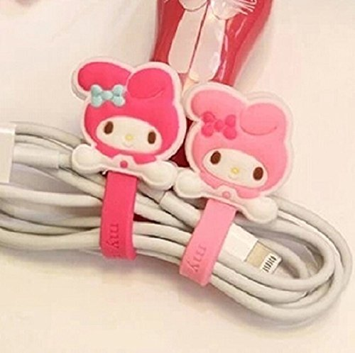 My Melody Cable Organizer (Wrapper) (Light Pink)