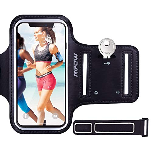 Mpow Running Armband for iPhone 8 7 6s 6, Sweatproof iPhone Armband with...