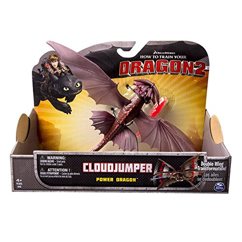 (Dreamworks Dragons Action Dragon Figure, Cloud Jumper)