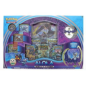Pokemon TCG Alola Lunala Collection Box