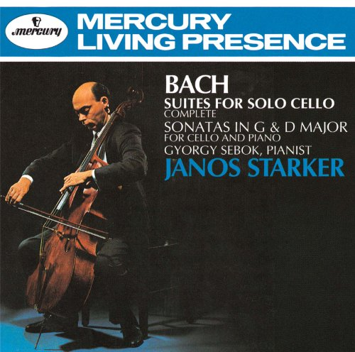 Janos Starker - Js Bach: Cello Suite (All 6 Songs), Etc. (2CDS) [Japan CD] UCCD-4753