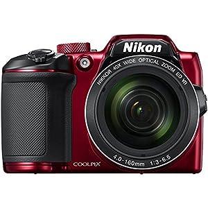Nikon COOLPIX B500 16MP 40x Optical Zoom Digital Camera 32GB Bundle includes Camera, Bag, 32GB Memory Card, Reader, Wallet, Batteries + Charger, HDMI Cable, Tripod, Beach Camera Cloth and More from Nikon
