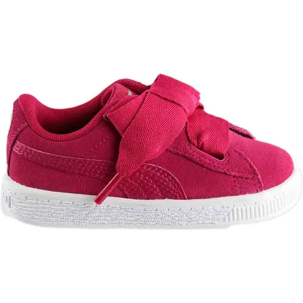 PUMA Unisex-Kids Suede Heart SNK,Love Potion/Love Potion,7 M US Toddler by PUMA (Image #2)