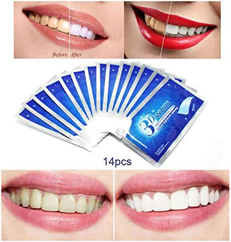 28Pcs/14Pair Crest LUXE 3D White Professional Effects Whitestrips Teeth Whitenin