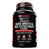 Cheap Bone Broth & Multi Collagen Advanced Protein Blend (240 Capsules) Keto Paleo + All 5 Collagen Types Primal Grass Fed High-Quality Blend of an Ancient Form of Nutrition & Vital Collagen Protein