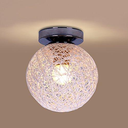NOCHX Vintage Simple Vine Ball Light Bird Nest Ceiling Lamp for Cafe Bar (Nest Bird Heater)