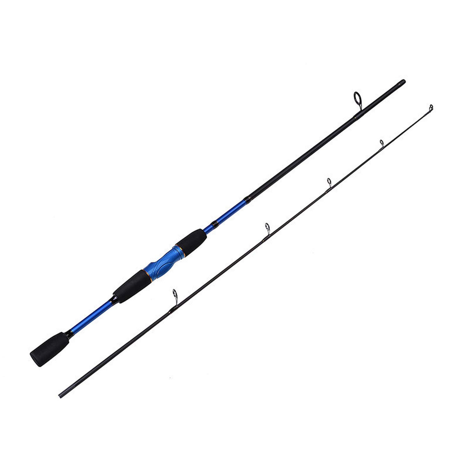 TTFRD Tshirt 2018 New 1.8M Baitcasting Rod and Spinning Fishing Pole 100% Carbon Spinning Lure Fishing Rod M Power 4-12Lb 4-22G Lure Weight