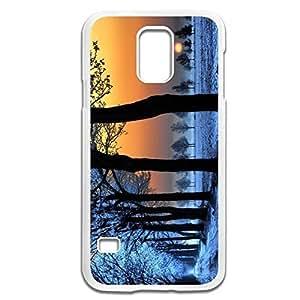 Samsung Galaxy S5 Cases Winter Design Hard Back Cover Shell Desgined By RRG2GKimberly Kurzendoerfer