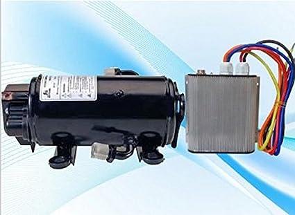 GOWE Brushless dc 24 V EV aire acondicionado compresor auto ac piezas para carro cama 12