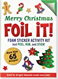 Large Foil It! Merry Christmas (Foil Art Activity Kit), Peter Pauper Press, 1441313745