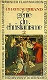 """Genie du Christianisme 1"" av Chateaubriand"