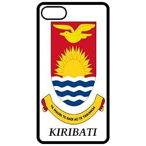 Kiribati - Coat Of Arms Flag Emblem Black Apple Iphone 5 Cell Phone Case - Cover