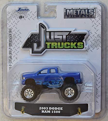 Just Trucks JADA 1:64 Scale Wave 20, Blue 2003 Dodge RAM 1500