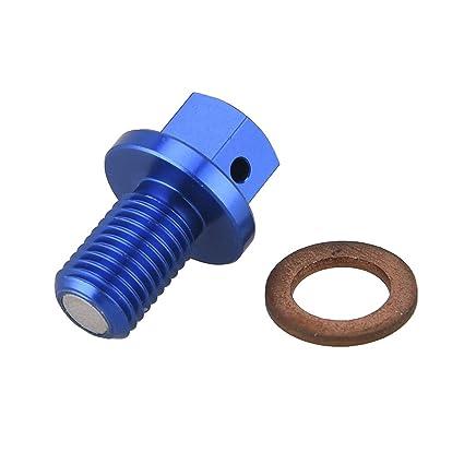 Amazon com: PRO CAKEN CNC Magnetic Engine Oil Drain Plug Screw
