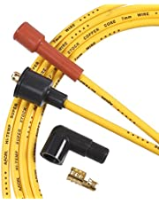ACCEL 3008 7mm Super Stock Copper Universal Wire Set - Yellow