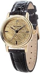 Yves Camani Gironde Gold Plated Ladies Watch YC1045