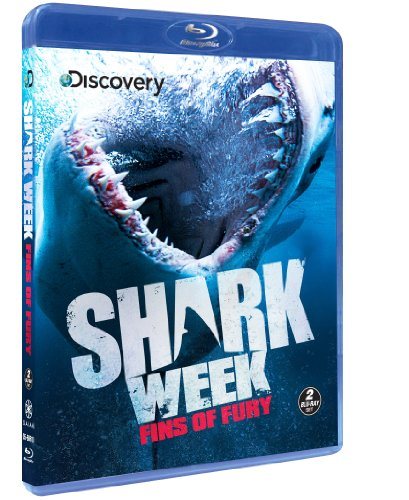 Shark Week: Fins of Fury [Blu-ray]