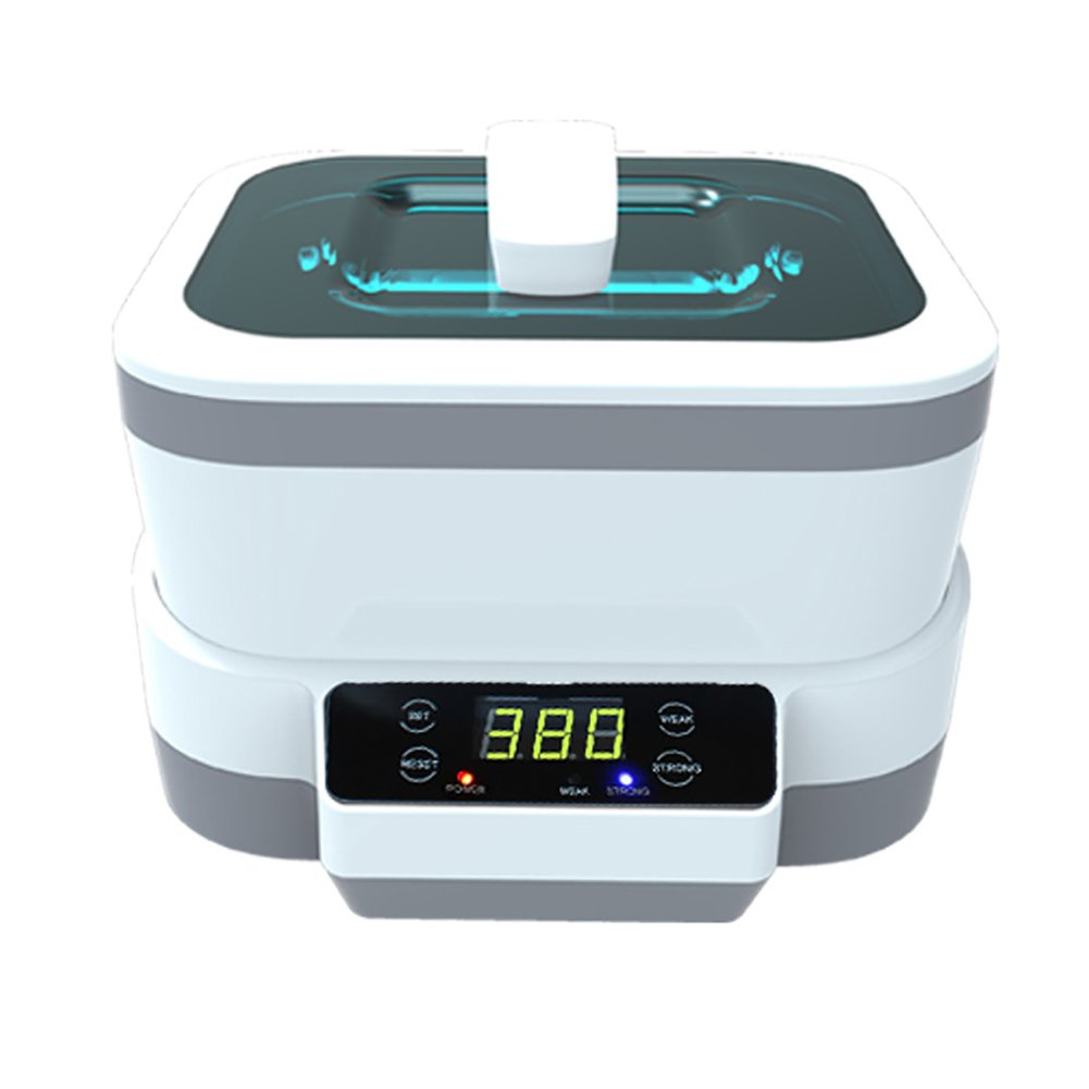 Binglinghua Professional Ultrasonic Polishing Jewelry Cleaner with Digital Timer for for Eyeglasses, Rings, Coins