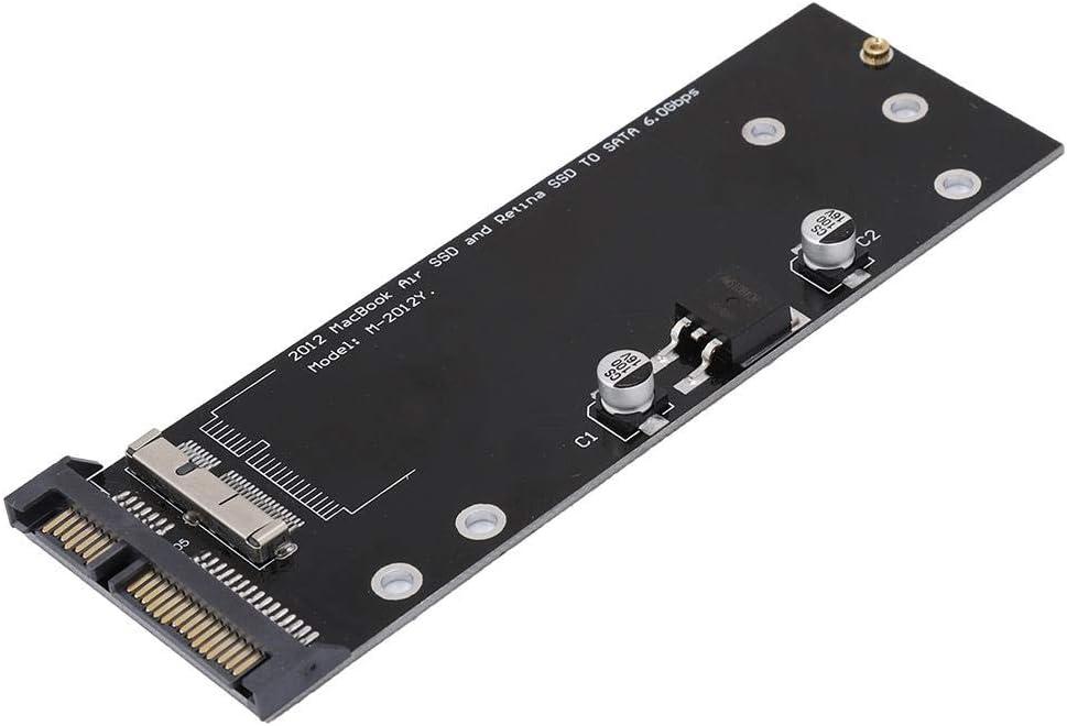 Adaptador SSD a SATA Tarjeta de Conversión para 2012 MacBook Pro ...